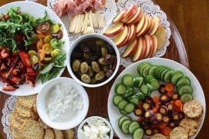 zdrowe potrawy na stole