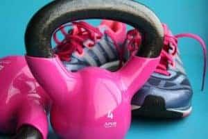hantle i buty sportowe