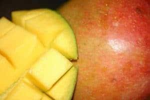 pokrojone afrykańskie mango