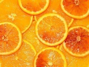 plasterki gorzkiej pomarańczy
