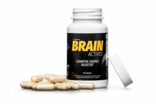 Brain Actives suplement diety na lepszą pracę mózgu