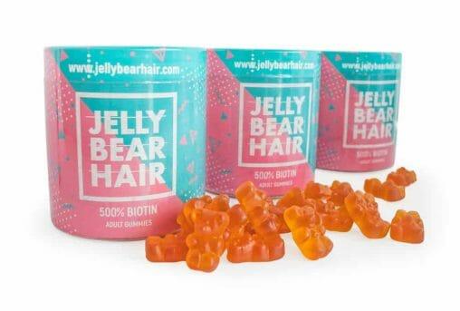 Jelly Bear Hair żelki witaminowe na wypadanie włosów