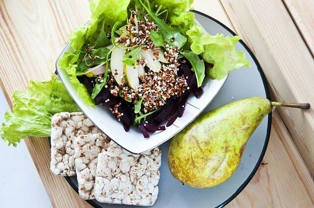 zdrowe, dietetyczne danie