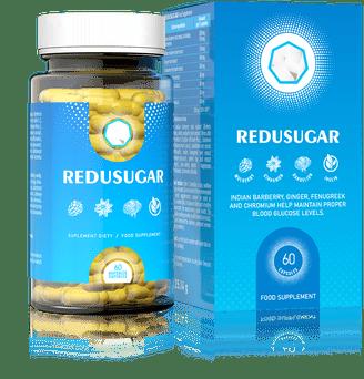 Tabletki na obniżenie poziomu cukru we krwi Redusugar