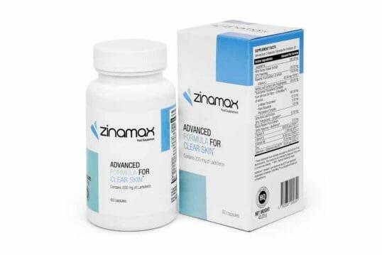 Tabletki na trądzik Zinamax